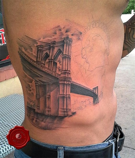 Brooklyn bridge, Tattoo artists and Bridges on Pinterest