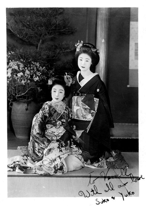 With all our love, Suko & Yuko