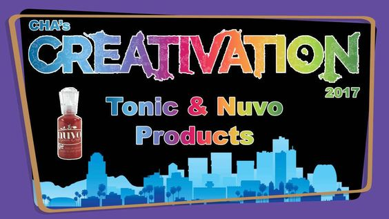Tonic Studios Nuvo Products - Creativation 2017 - http://www.craftsbytwo.com/video-4/ Tonic is bringing a bunch of new items to the Nuvo line. Join us for a quick look at their new releases!