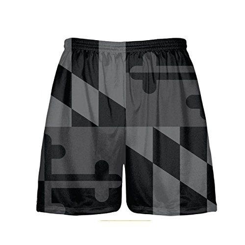 Lightningwear Blackout Maryland Flag Shorts Md Flag Short Maryland Flag American Flag Shorts Lacrosse Shirts