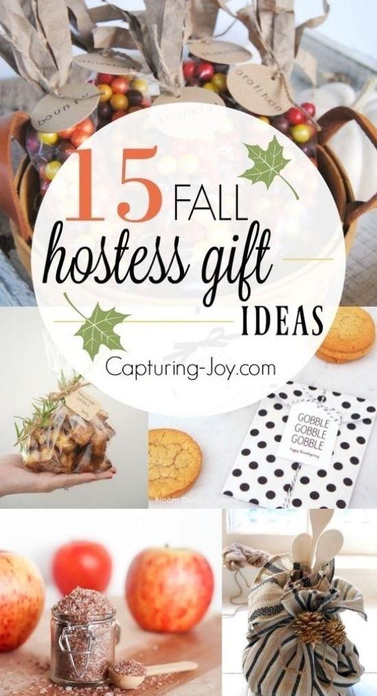 15 Hostess Gift Ideas For Fall Fall Gift Ideas To Show Gratitude Geschenkideen Geschenke Hostessen