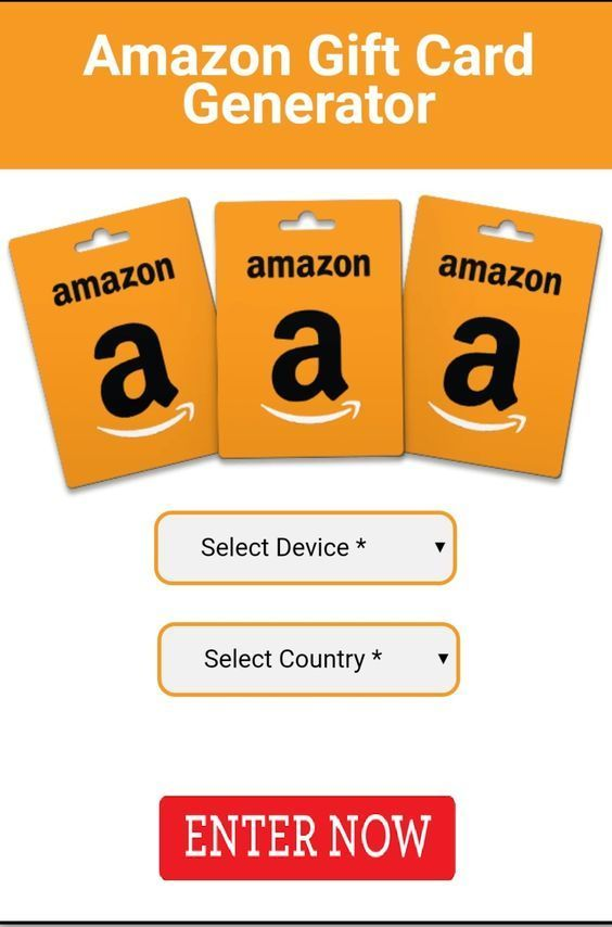 Free Amazon Gift Card Amazon Gift Card Free Amazon Gift Cards Gift Card Generator