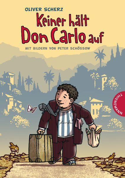 Carlos Mutter hat den Vater rausgeschmissen, nun ist dieser nach Sizilien zurückgekehrt. Und Carlo hat Sehnsucht. Wie der Elfjährige sich auf die Reise nach Palermo macht, schildert Oliver Scherz in einem warmherzigen Buch.