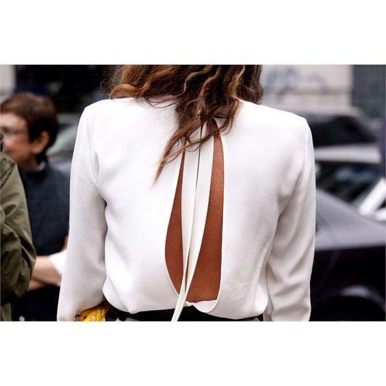 Open Back Blouse..Beautiful!