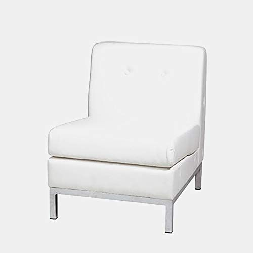Faux Leather Accent Chair With Chrome Finish Accent Slipper Chair With Removable Cushion White Accent Chairs Leather Accent Chair Chair