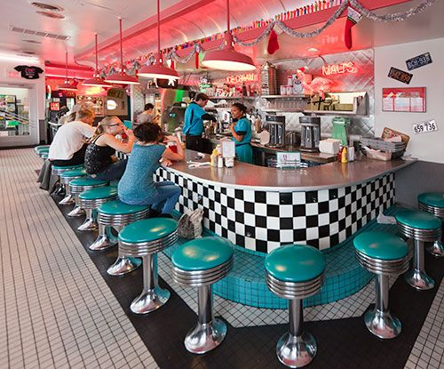 66 Diner, Albuquerque...green chile cheese fries   - Explore the World with Travel Nerd Nici, one Country at a Time. http://TravelNerdNici.com
