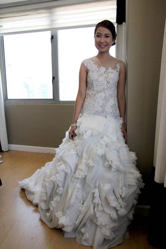 Philippine-based fashion forward bridal couture designer MARA CHUA's collection in The Wedding Ideas Portal Philippines TWIPP (www.themesnmotifs.com)