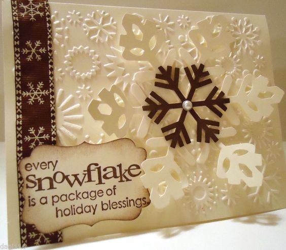 The Paper Stamper: Friday Mashup Snowflakes!