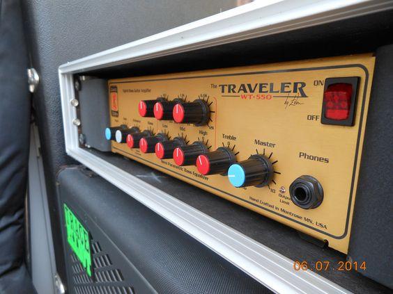 David Eden | WT-550 | Hybrid Tube Bass amplifier