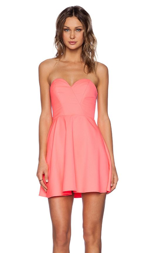 Shop for NBD x Naven Twins Disclosure Dress in Electric Peach at REVOLVE. Free 2-3 day shipping and returns, 30 day price match guarantee.