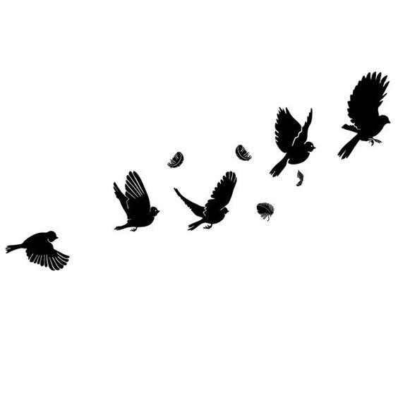 Oiseau qui s 39 envole dessin recherche google tatouages pinterest recherche - Tatouage oiseau qui s envole ...