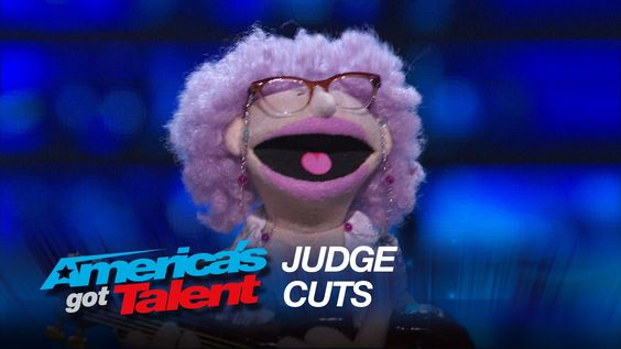"""Ira: Puppet Serenades Mel B With """"Let's Get It On"""" by Marvin Gaye - Amer..."""
