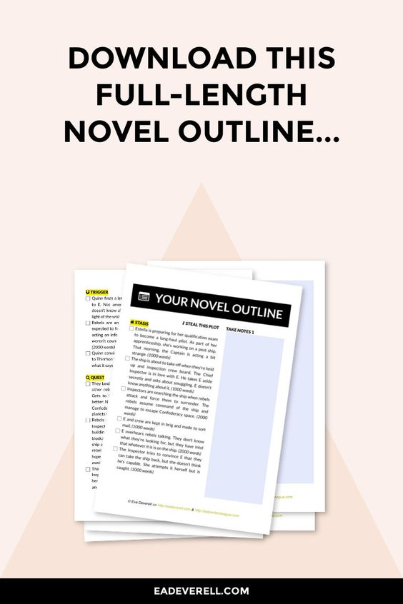 Want to write a novel but don't know where to start? Here's a scene-by-scene novel outline you can download and start writing right now...