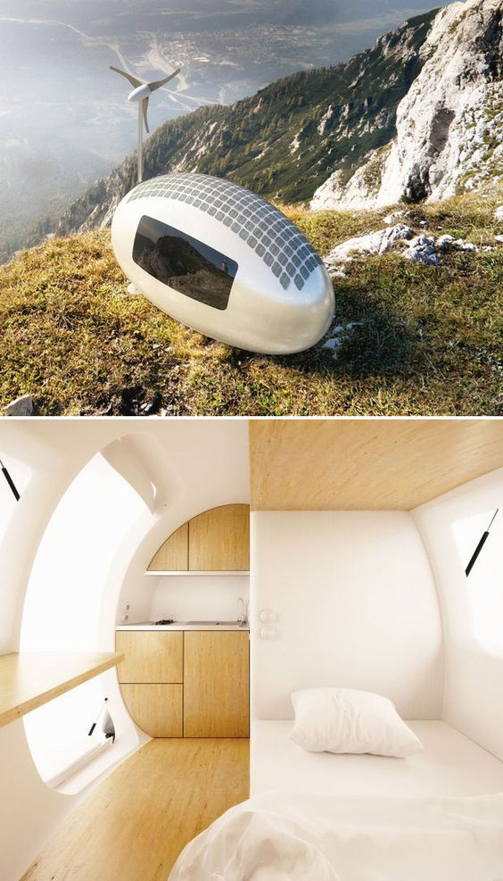 Ecocapsule Ecocapsule Is A Portable Off Grid Two Person
