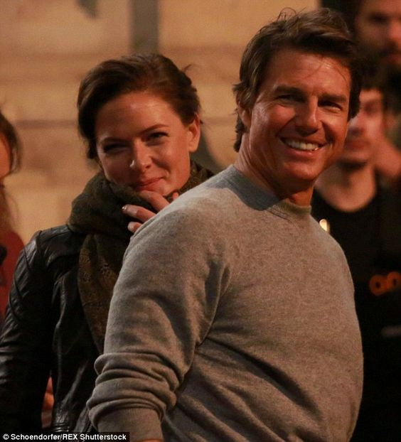 Rebecca Ferguson  and Tom Cruise  | ''There's no one who has more connection. He's a people person... I'm insecure and I question myself every time I do a scene, but with Tom (Cruise) you feel like an actress who is working alongside him,'' said Rebecca Ferguson | @dailymail