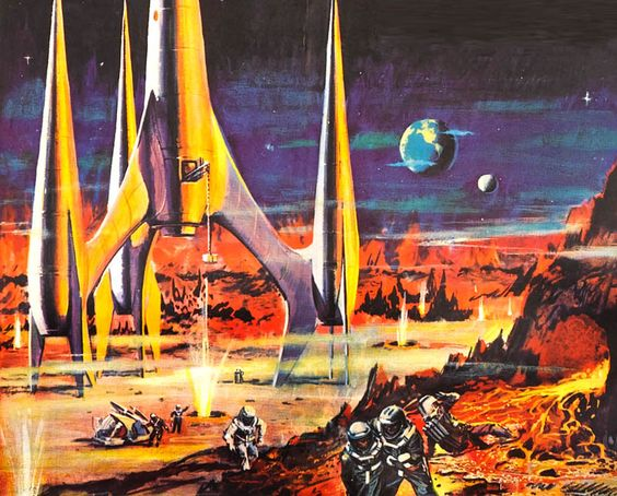 """""""First Spaceship on Venus"""" (from the 1960 East Germany/Poland film):"""