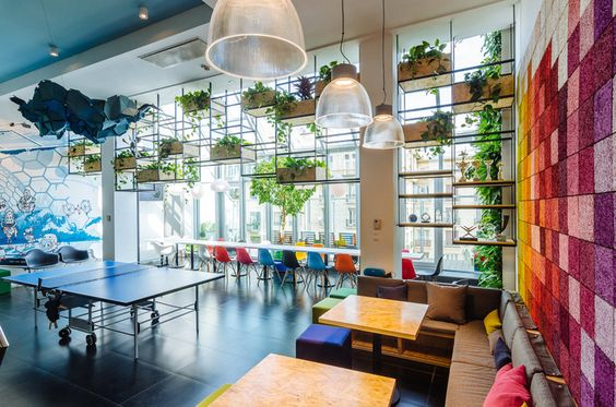 Flight search engine Skyscanner has recently moved into a new office located in Budapest, Hungary and designed by Madilancos Studio and an inhouse team.