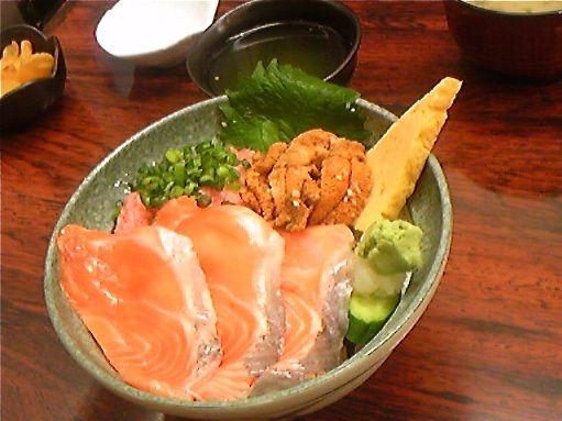 salmon & Sea Urchin-don