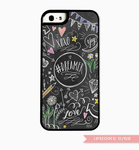 Dreamer Smart Phone Case Unique iPhone 5/5S case by LilyandVal