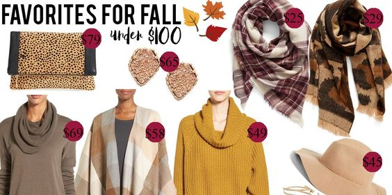 Favorites for Fall