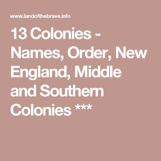 new england middle and southern colonies The different development of the new england, southern, and middle colonies america was a place for dreams and new beginnings, until white people arrived in 1607.