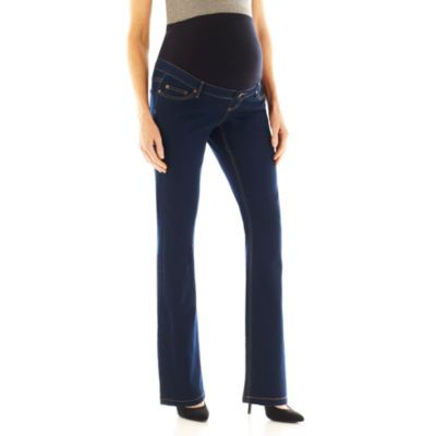 jcpenney | Maternity Full Panel 5-Pocket Jeans - Plus