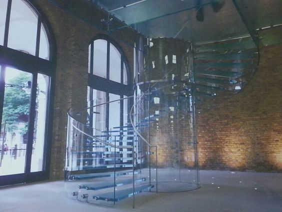 Cinderella glass staircase...