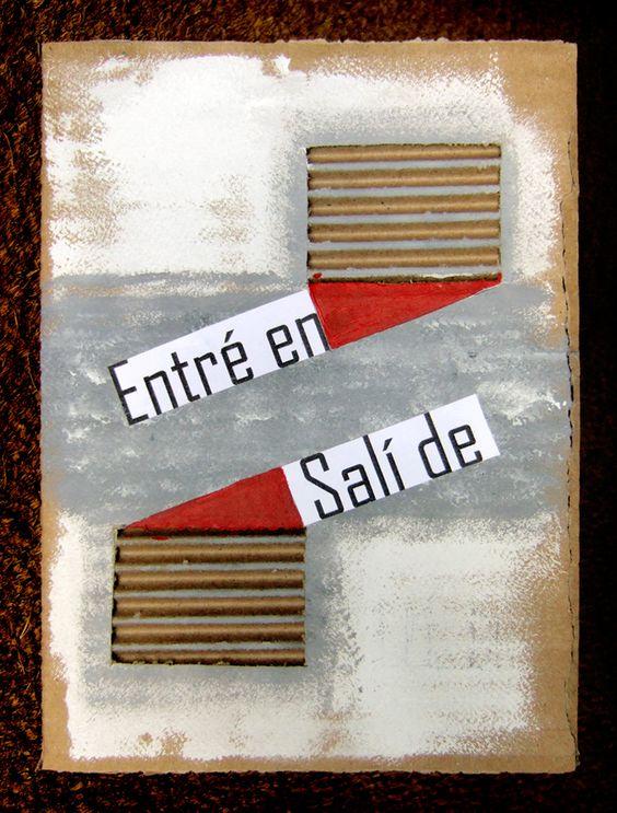 Marisa Lanca para Juan Luis Saldaña, Entre en, salí de.