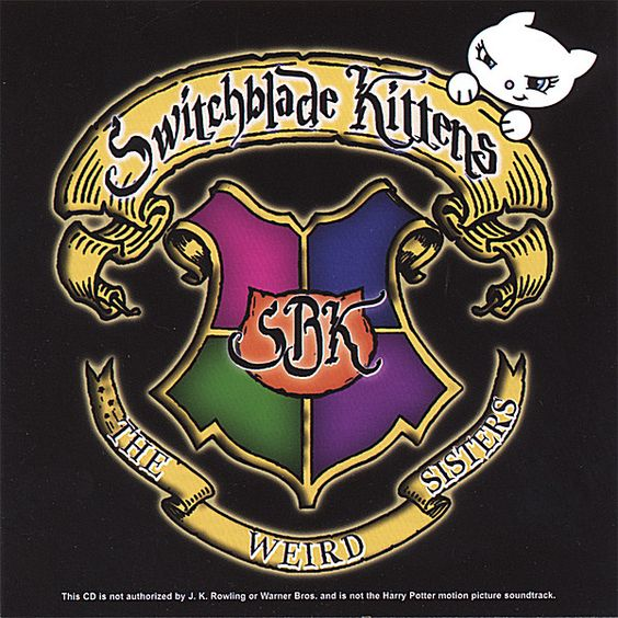 Switchblade Kittens - Weird Sisters, White