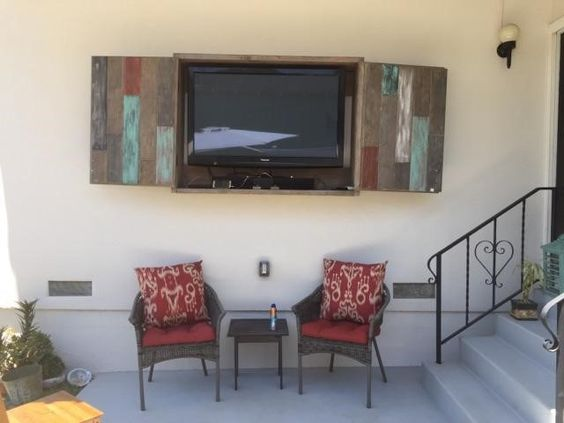 Backyard Tv Cabinet Plans Diy Easy Step By Step Building