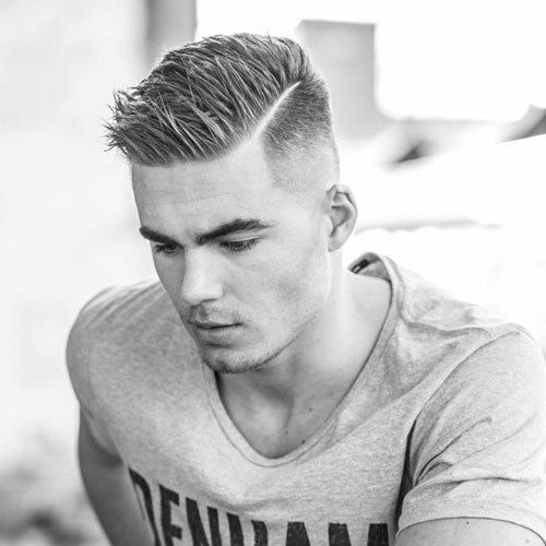 Spiked Side Part With High Fade Latest Hairstyles 2020 New Hair Trends Top Hairstyles Mens Haircuts Short Teenage Boy Hairstyles Hair Styles 2014