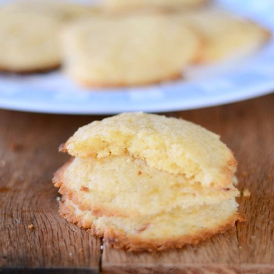 Lemon Cake Cookies These tangy and sweet gluten-free lemon cake cookies are easy and delicious!