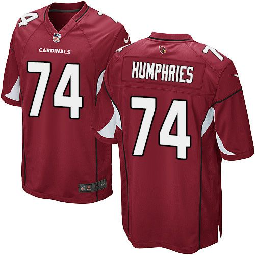 NFL Jerseys Official - Game D.J. Humphries Youth Jersey - Arizona Cardinals 74 Home Red ...