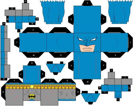 Cubee Craft Batman Classic DC Super Heroes by handita2006.deviantart.com on @deviantART