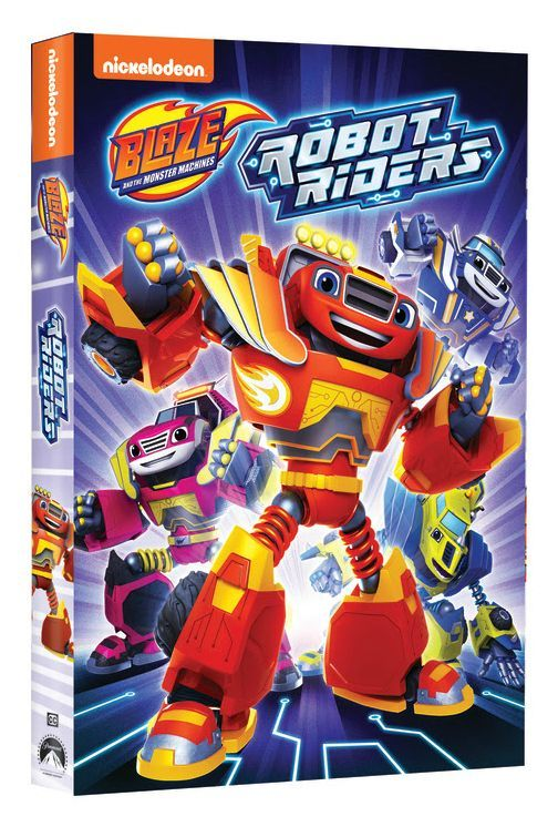Robot Riders Dvd Blaze And The Monster Machines With Images