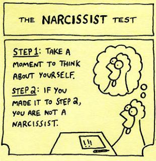 Narcissistic test