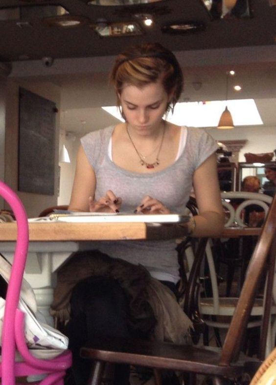 If she can study while doing everything else.. so can I