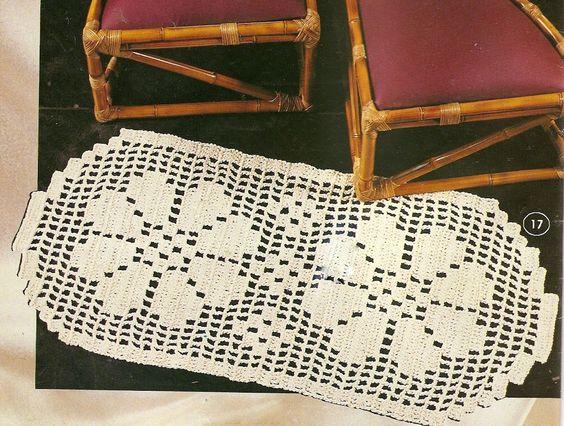 tapetes de croche - Nº03 - Lucia Crochê - Álbuns da web do Picasa