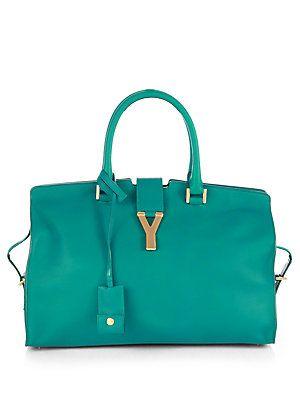 Saint+Laurent Saint+Laurent+Cabas+Classique+Y+Line+Top-Handle+Bag