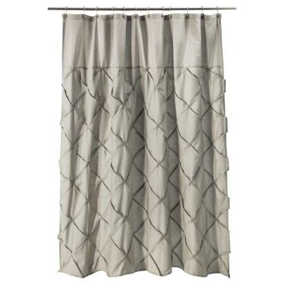 Threshold Shower Curtain Light Gray Target 1st Floor Bathroom 1st Floor Bathroom