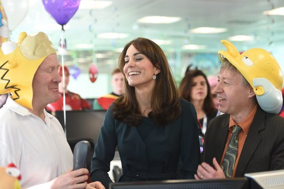 Kate Middleton's Latest Appearance Includes Witches, Ping Pong, and Pantless Men in Heels