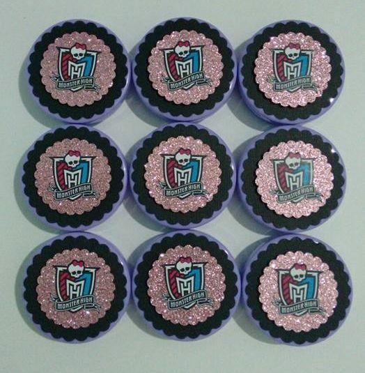 Latinhas para confetes Monster Hight