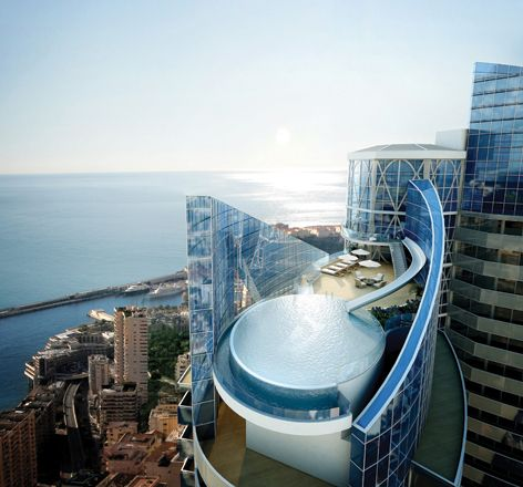 Tour Odeon - Monaco's Newest and Tallest Residential Skyscraper ...