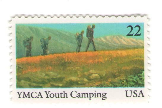 10 Unused 1985 YMCA Youth Camping  by MyVintagePostOffice on Etsy