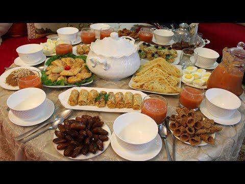 عراضة لمائدة الافطار اللي حضرت لضيوفي باطباق راقية ورائعة نالت اعجاب الجميع Youtube Food Ramadan Table Settings