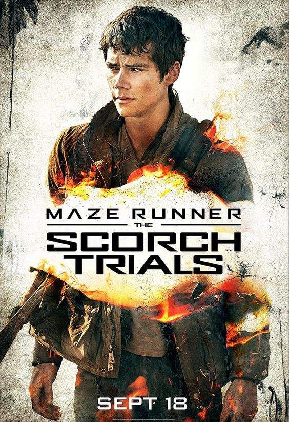 Dylan O'Brien - The Scorch Trials poster