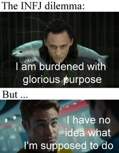 Burdened with glorious purpose... | INFJ | Pinterest: