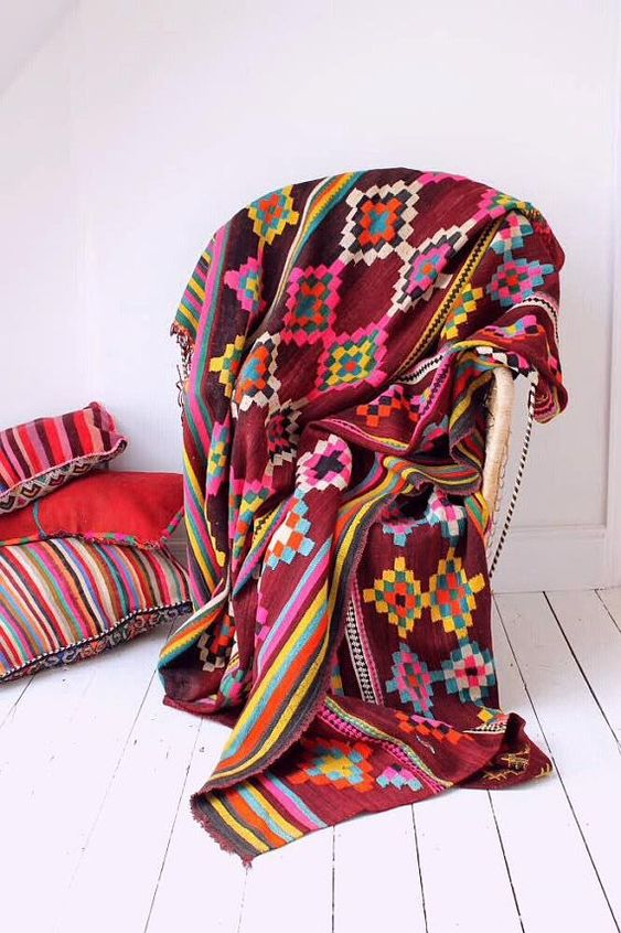 The Neon Finca Vintage Moroccan Kilim Area Rug Huge In Size Https