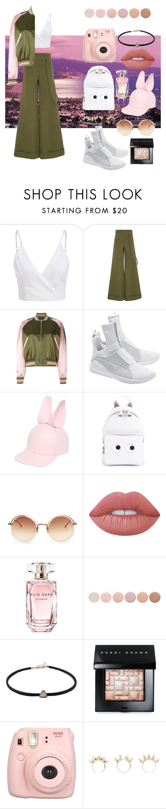 """Heartbroken"" by lollolololollol ❤ liked on Polyvore featuring Rosie Assoulin, Alexander McQueen, Francesco Ballestrazzi, Anya Hindmarch, Linda Farrow, Lime Crime, Elie Saab, Deborah Lippmann, Bobbi Brown Cosmetics and Joomi Lim"