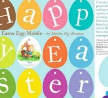 Printable Easter Egg Banner